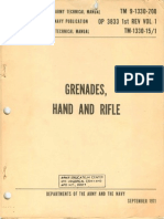 TM 9-1330-200 1971 - Grenades, Hand and Rifle