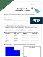 Ficha de Competencias Orientación y Natación