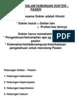 K.P 2.8 Profesionalisme Dalam Hubungan Dokter -Pasien