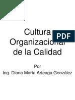 Clase 1 Cultura Organizacional de La Calidad
