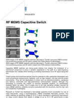 RF MEMS Capacitive Switch