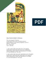 Liber Resh & Ankh-f-n-Khonsu
