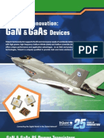 GaN and GaAs RF Power Devices