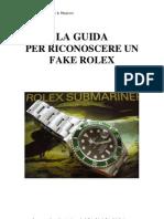 Guidafake Rolex