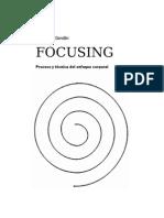 Focusing. Proceso y técnica del enfoque corporal