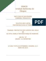 Proyecto Del Siglo Xx en Mexico