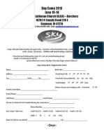 2013 Daycamp Registration Forms