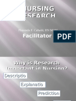 Nursing Research Intro