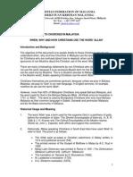 CFM - Allah Fact Sheet - 16 May 2013 - FINAL - English