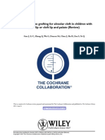 Secondary Bone Grafting for Alveolar Cleft in Children With