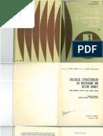 Calculul Structurilor Cu Diafragme Din Beton Armat (Postelnicu Si Agent)