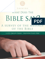 LIFE Groups Survey of the Bible Message
