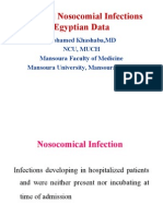 Nosocomial Infections in Egypt