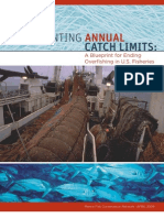 Implementing Annual Catch Limits