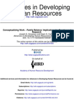 Advances in Developing Human Resources 2007 Grzywacz 455 71