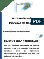 Presentación Innovación en los Procesos de Negocio (Guayaquil)
