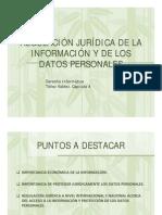 Regulacion Juridica de La Informacion y Datos Personales 2012 1