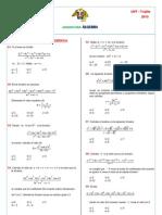 Alg 04 - DivisionAlgebraica
