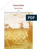Edward Winter - Chessy Words