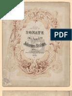 Brahms Sonate Pour Deux Pianos