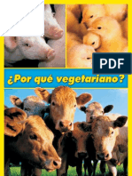Por qué vegetariano