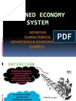 Planned Economy System