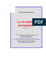 La Revolution Permanente - Trotrki