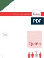 HAIKU COMUNICACIÓN _ Dossier Corporativo