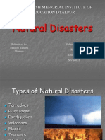 3 Natural Disasters