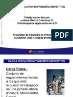 4. PRESENTACION CARGA FISICA POR MOVIMIENTO REPETITIVO PROCTEK.pptx