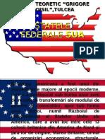 Proiect Istorie SUA State Federale
