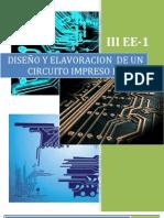 INFORME DE DISEÑO Y ELAVORACION DE PCB
