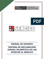 Manual Sencico