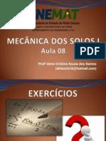 Fot 5114ms i - Aula 8 - Exebcycios de Yndices Fysicos PDF