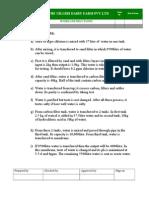 Workinstruction for Maintenance &Pest Control Etc.