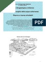 4 Ciclo Idrogeologico Ricarica Riserve
