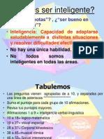 Inteligencias múltiples 2013