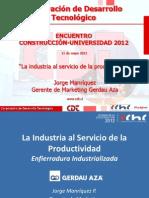 """""""La industria al servicio de la productividad"""""""