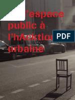 De l'espace public à l'hAcktion urbaine