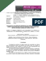 AVALIAÇÃO DA VALORIZAÇÃO ENERGÉTICA DO COMPLEXO ENZIMÁTICO