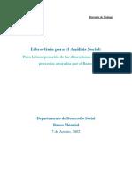 Analisis Social de Proyectos de Los Bancos