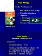 Food Allergy 2013