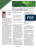 Unity of Merced's Newsletter