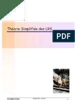Theorie Simplifiee Des LRS v20!06!04
