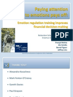 Emotion regulation training improves