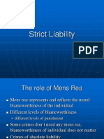Seminar 6 Strict Liability