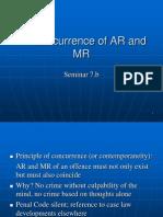 Seminar 7.2 Concurrence