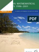 Australian Mathematical Olympiads 1996 2011 Book 2