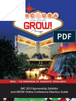 IMC 2013 Sponsorship, Exhibitor