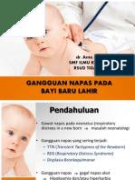 Gangguan Napas Pada Bayi Baru Lahir